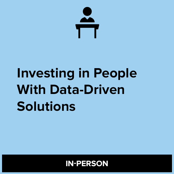 Investing in People With Data-Driven Solutions