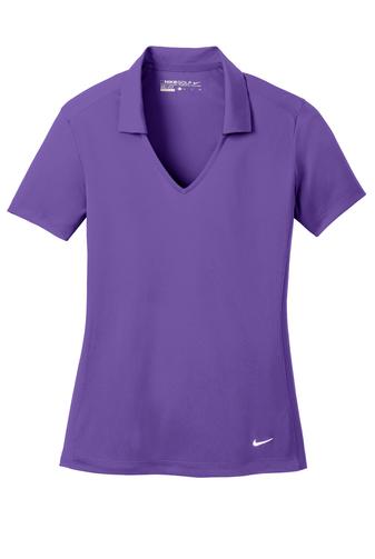 Purple Mesh Polo Shirt
