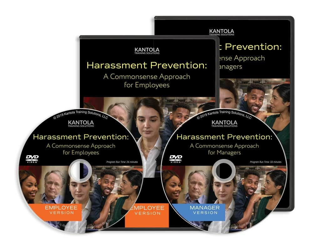 Harassment Prevention: A Commonsense Approach DVD (employee-manager combo)