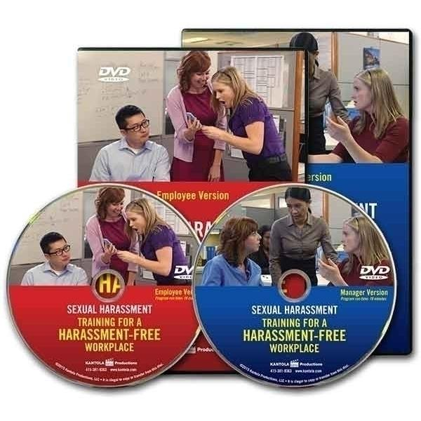 Sexual Harassment: Training for a Harassment-Free Workplace Combo DVD -- Employee/Manager Package