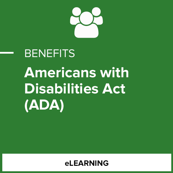Americans with Disabilities Act (ADA)- Corporate